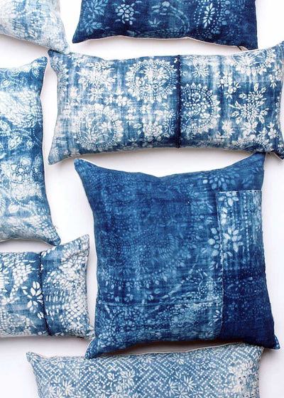 LuRu Home Vintage Indigo Pillow