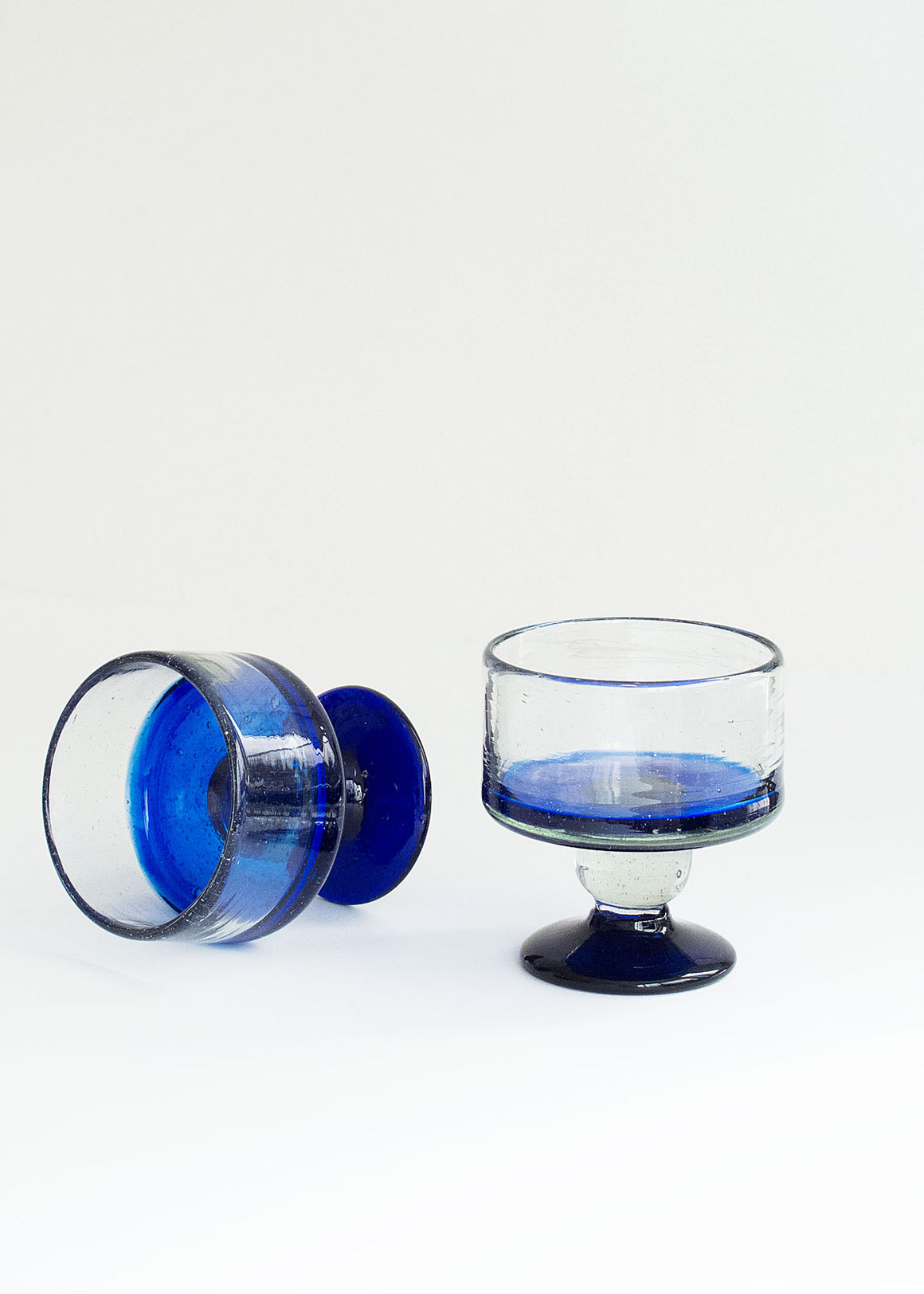 Cobalt Serving Cup