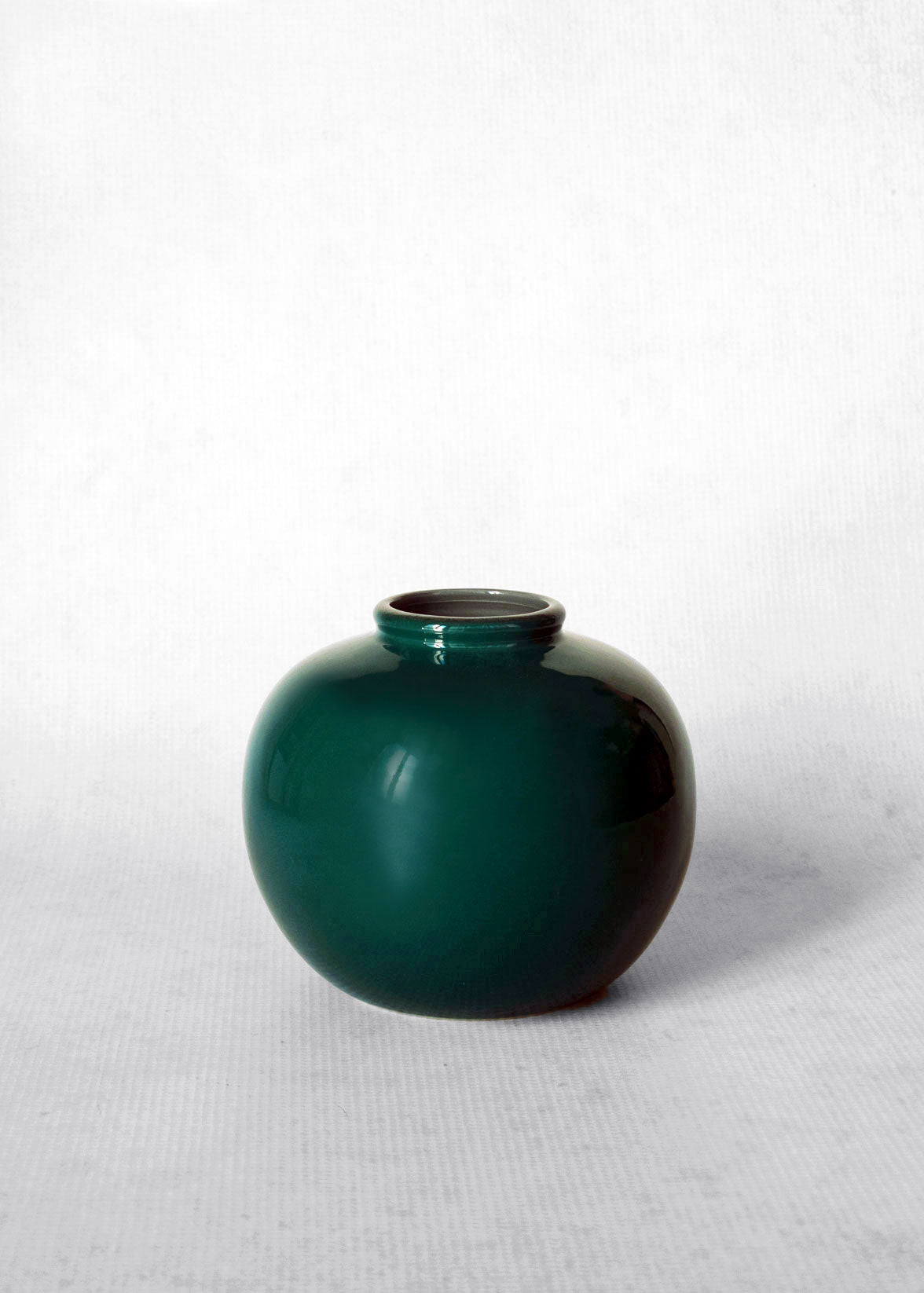 Middle Kingdom Porcelain Jade Ring Vase
