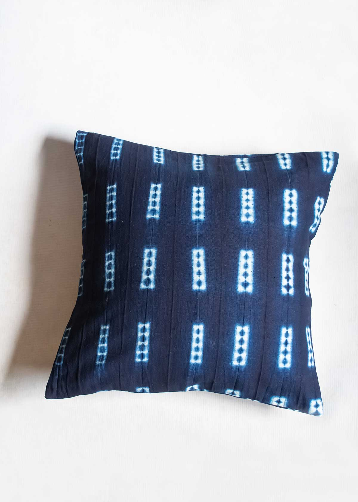 Ndomo Mud Cloth Pillow, handmade in Mali