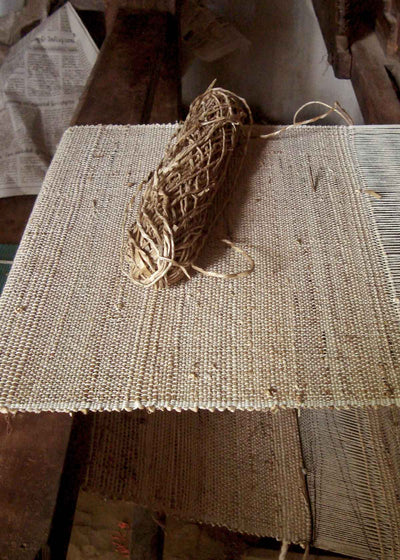 Banana fiber weaving