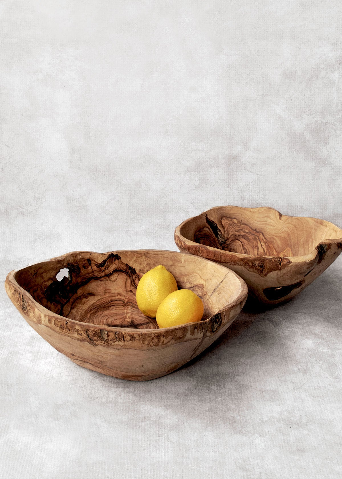 Rustic Olive Wood Bowl