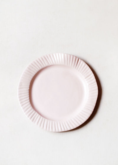 Porcelain Paper Plate, Blush by Virginia Sin