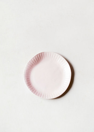 Porcelain Paper Plate, Blush, by Virginia Sin