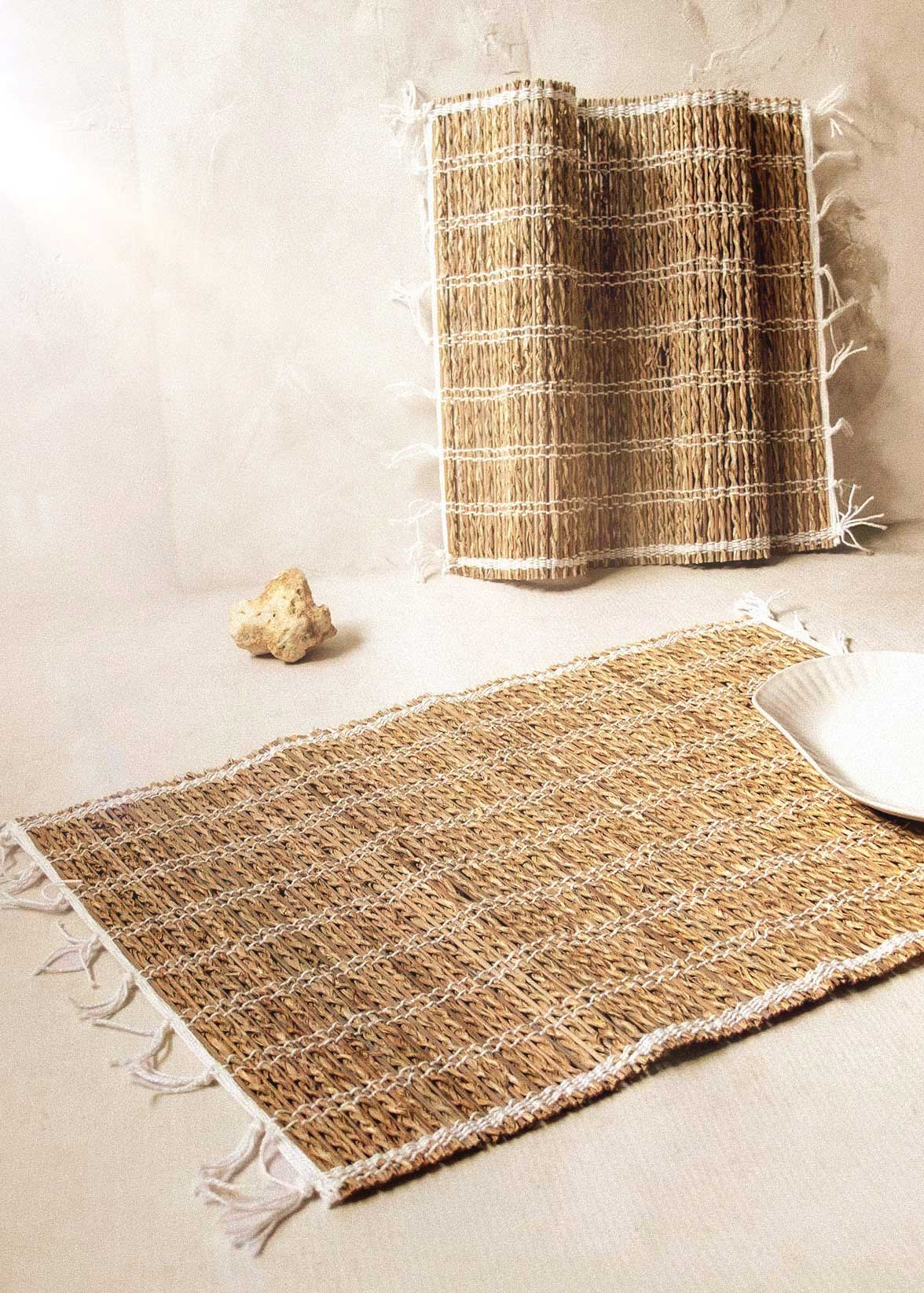 Banana Fiber Placemat, Set of 2