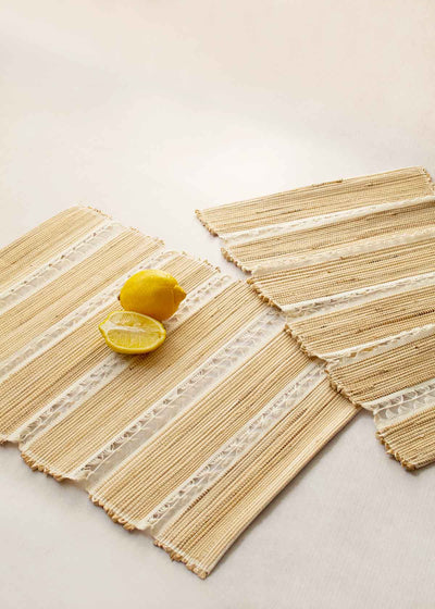 Laced Banana Fiber Placemat