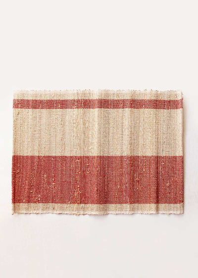 Banana Fiber Woven Placemat, Set of 2