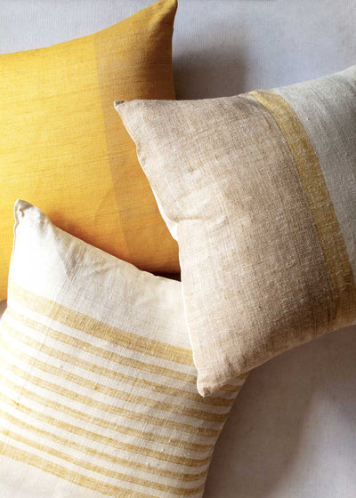 Women Weavers Trust Raw Silk Pillow