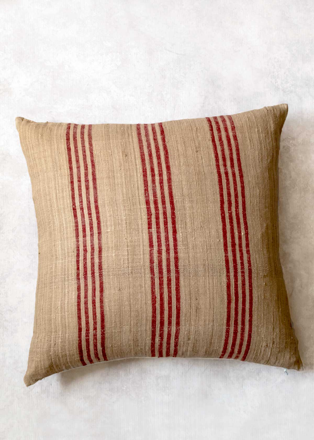 Sustainable Threads Raw Silk Pillow