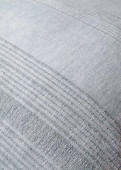 Sustainable Threads Sea Salt Handwoven Pillow