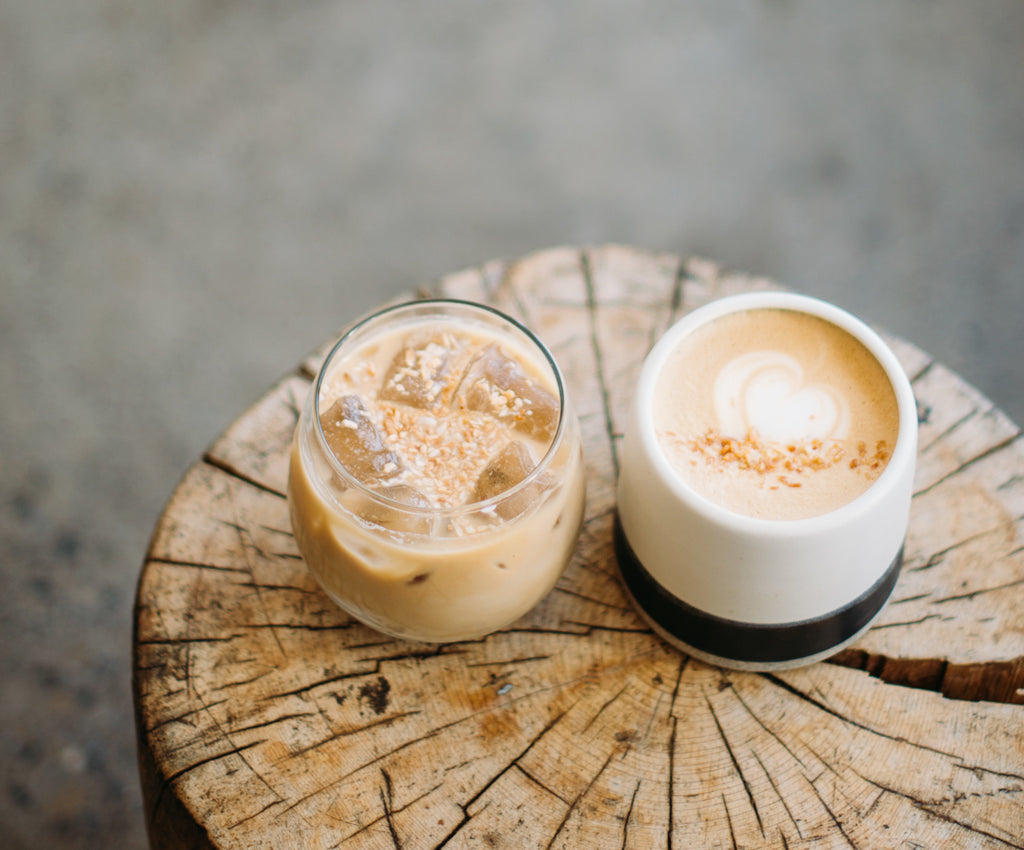 Coconut Latte / Recipe
