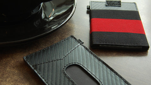 Urban x-flex slim Carbon Fiber leather wallet