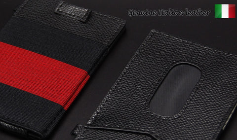 Urban x-flex slim Crossgrain Leather wallet
