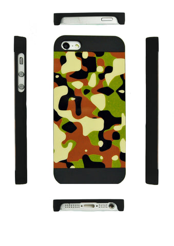 iPhone 5 5S SE green Camo Pattern case