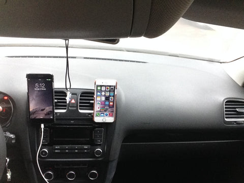 Universal Air Vent Magnetic Car Mount Holder for iPhone Samsung HTC LG Motorola and more combo case
