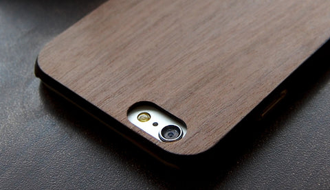 Walnut Real Wood slim case for iPhone 6