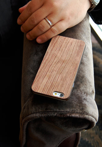 Rosewood Real Wood slim case for iPhone 6 combo case