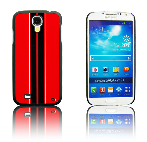 Samsung galaxy S4 Racing Strip case Red/Black