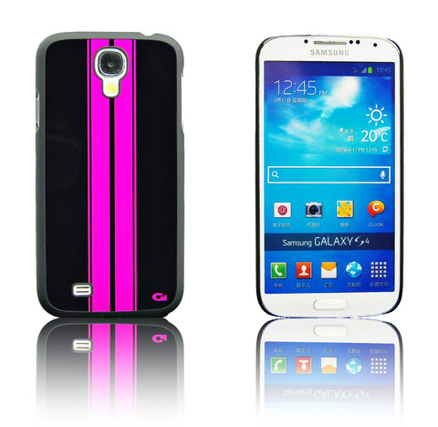 Samsung galaxy S4 Racing Strip case Pink
