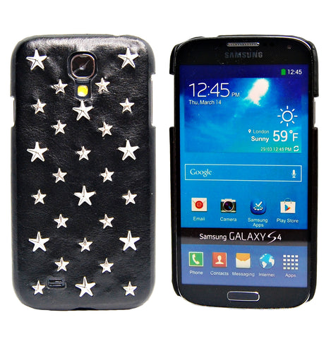 Samsung galaxy S4 Fashion 3D Rock Star PU leather case