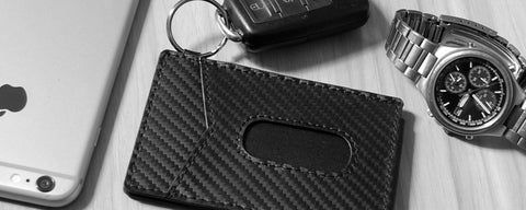 Carbon Fiber x-flex slim wallet