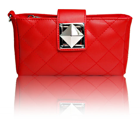 SmartPhone fashion Clutch wallet Red color