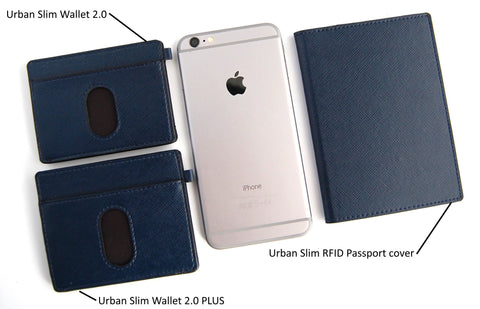 URBAN SLIM Passport cover with RFID protection