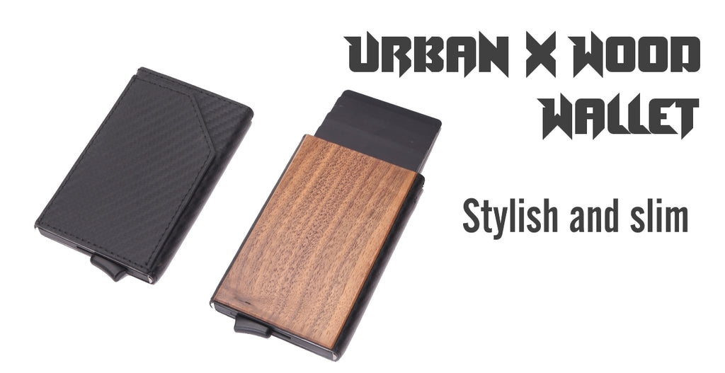 Urban X Wood wallet