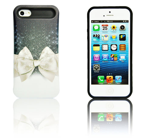 iPhone 5 5S SE gold bow tie case