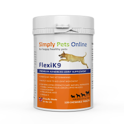 Dog Joint Supplement FlexiK9 ( Flexidog) Created by 2 vets for dog arthritis