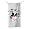 Love Boston Terriers Sublimation All Over Towel