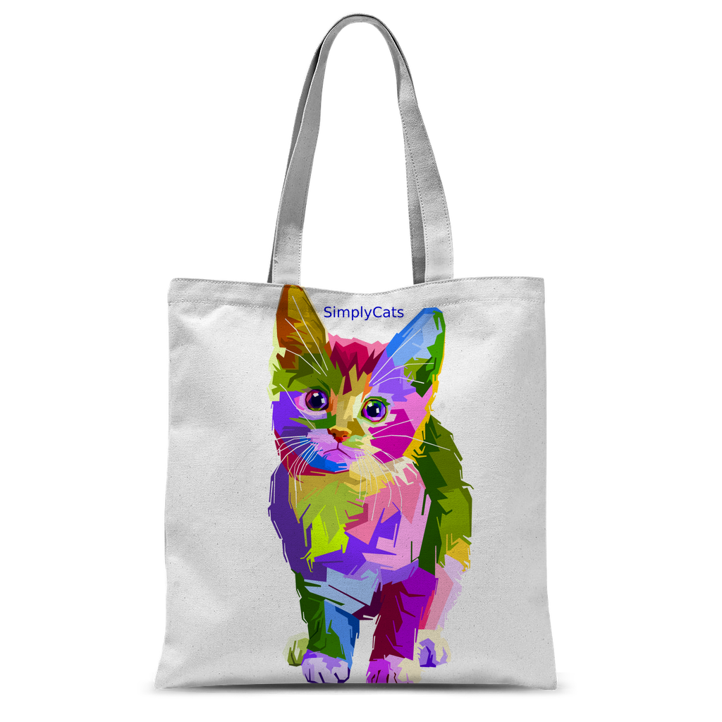 SimplyCats Classic Sublimation Tote Bag