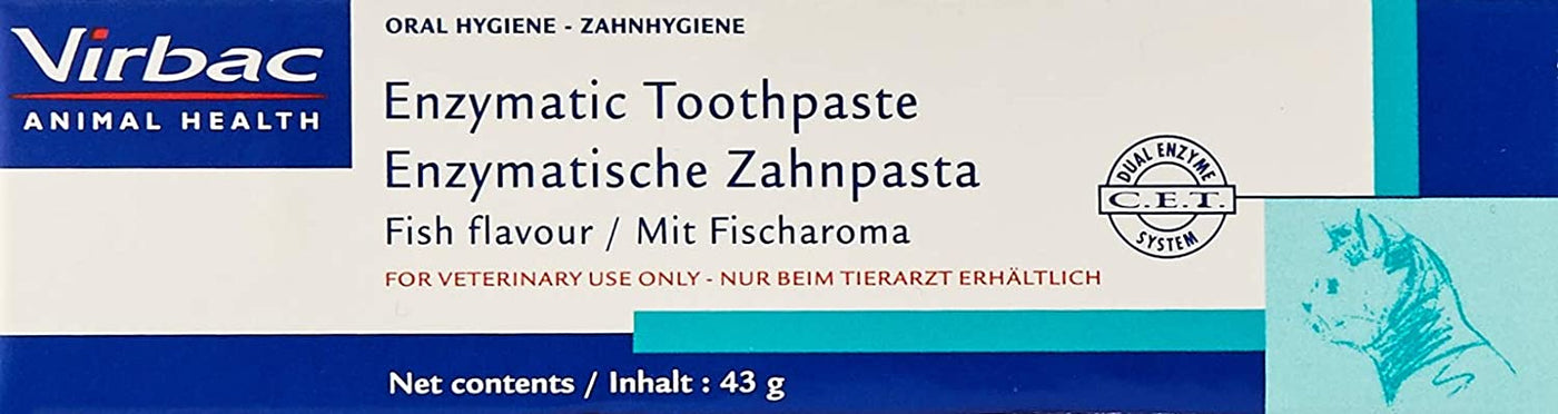 Virbac Enzymatic Toothpaste Fish Flavour 43g