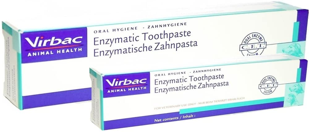 Virbac Enzymatic Toothpaste For Dogs Pack of 2