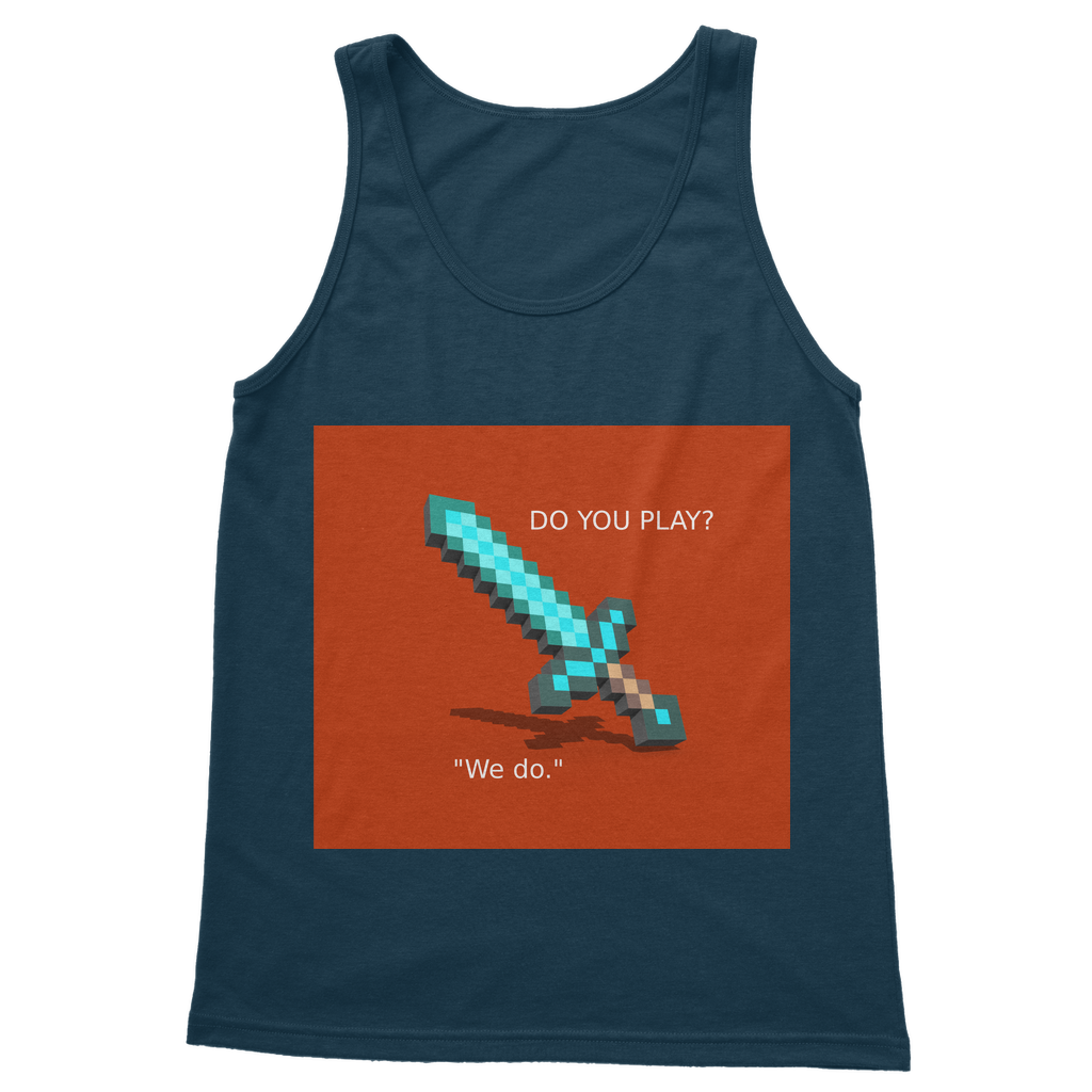 Mine-Craft Classic Adult Vest Top