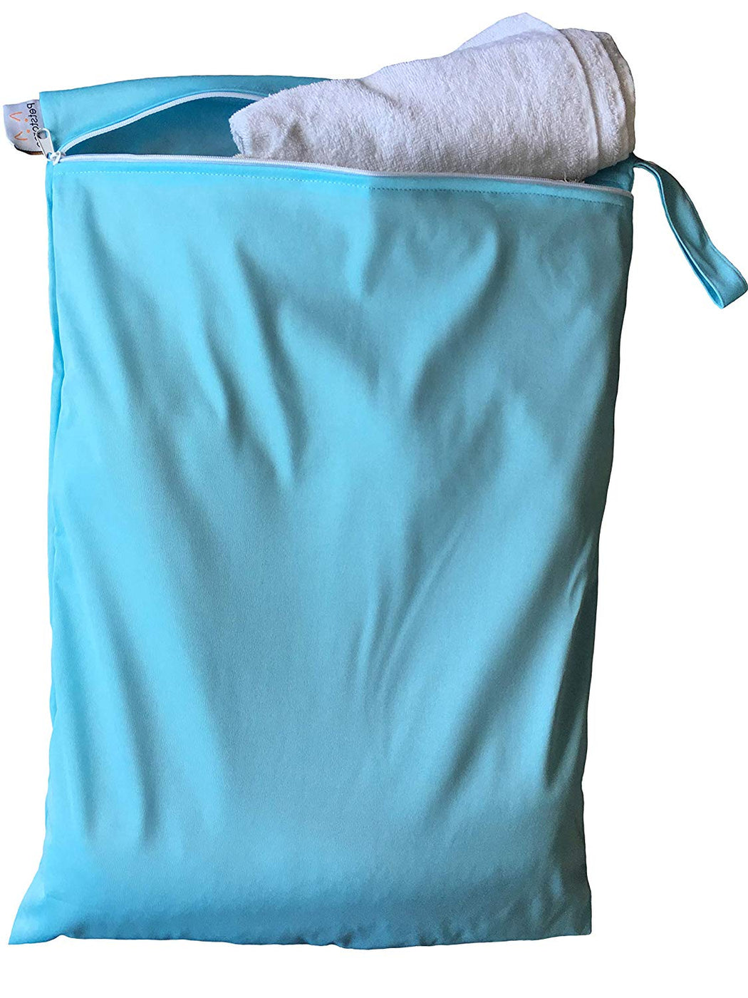 Petstoreo Pet Wash Bag For Washing Machine (Sky Blue)
