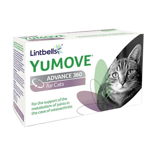 Yumove 360 joint supplement for cats sold by Vets