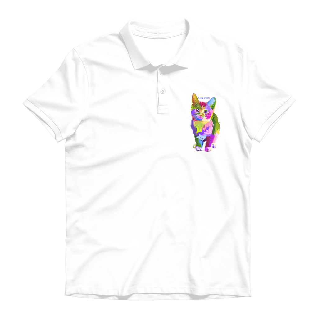 SimplyCats Premium Adult Polo Shirt
