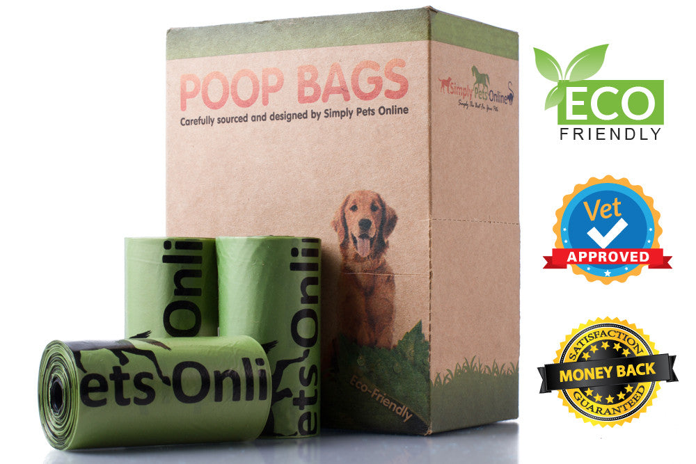180 Eco-friendly Dog Poop Bags