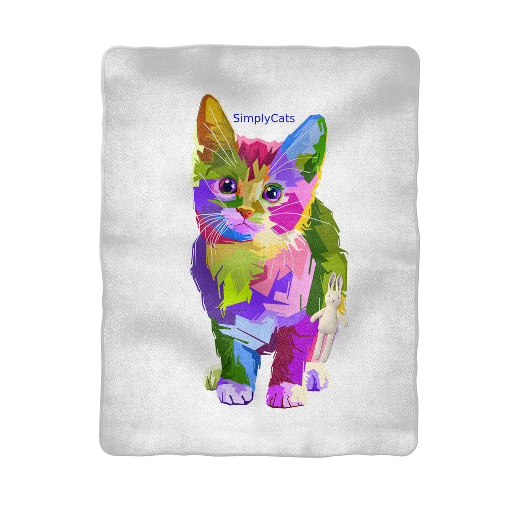 SimplyCats Sublimation Baby Blanket