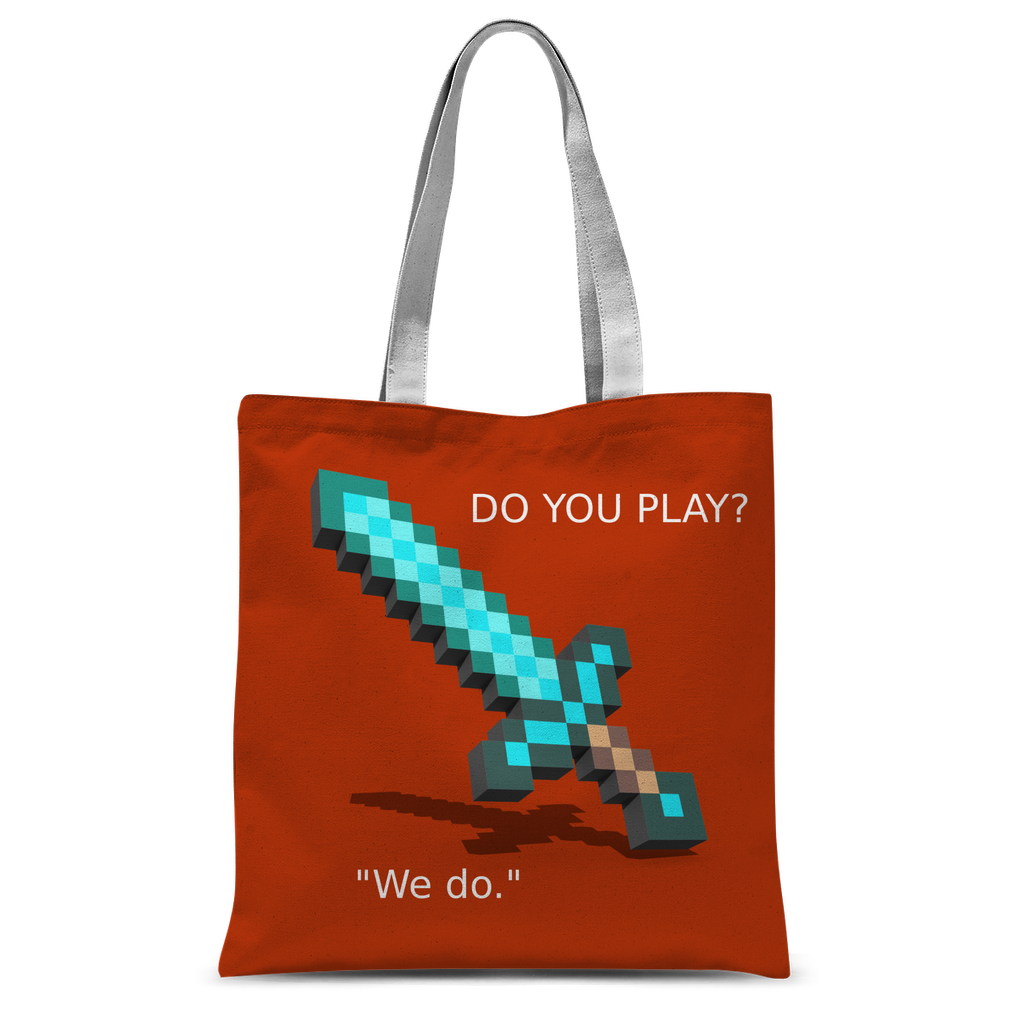 Mine-Craft Classic Sublimation Tote Bag
