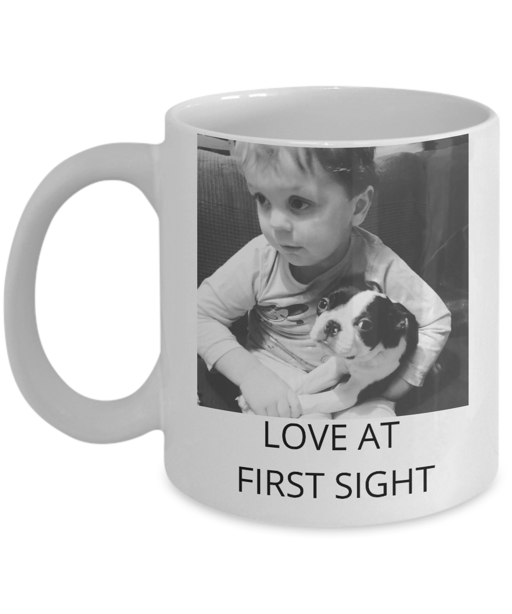 NOVELTY COFFEE CUP | LOVE AT FIRST SIGHT