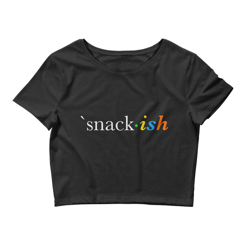 Snack-ish Women's Crop Tee
