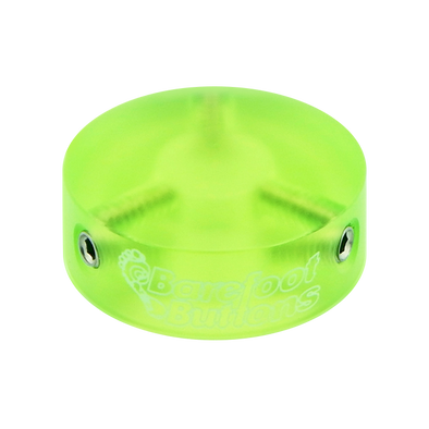 Green Acrylic Barefoot Button V1