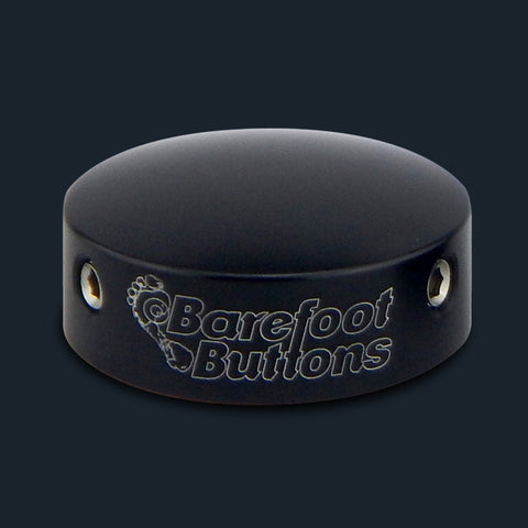 Big Bore Black Barefoot Button