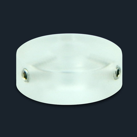 Clear Acrylic Barefoot Button V1
