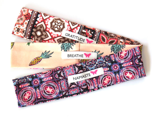 Headbands set of 3