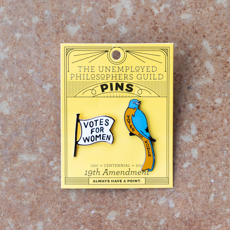 19th Amendment Pin