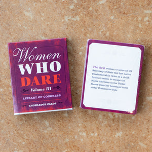 Women Who Dare Cards
