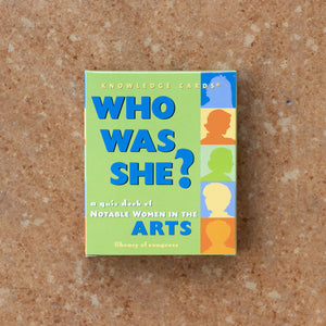 Who Was She? Cards